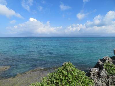 黒島西の浜ここは沖にリーフが無いので仲本海岸と違って干潮時でもプール状態にはならない外洋の影響を受ける2019年7月八重山・黒島8泊9日28