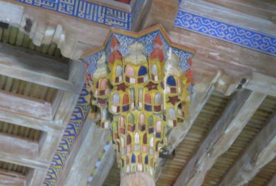 2019春、ウズベキスタン等の旅(31/52):4月26日(3):ブハラ(2):アルク城(2):城内展示品、コーラン