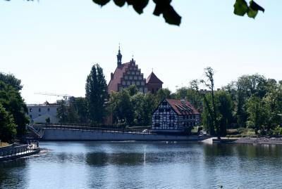 ポーランド再訪、今度は真夏 4日目 ヴィドゴシュチ・ブロツワフ