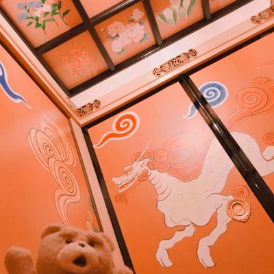 美術品みたいなトイレ、上杉神社、茨城県