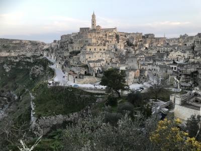 初めての南イタリア(1)BariからMateraへ