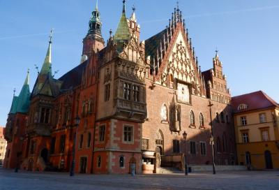 ポーランド再訪、今度は真夏 5日目 ブロツワフ