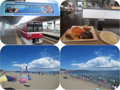 夏だ!三浦だ!京急に乗って三浦海岸へ