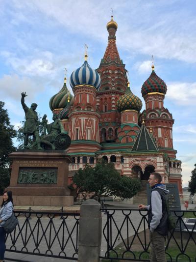 初ロシア、初モスクワ