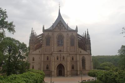 2019年東ヨーロッパの旅 vol.7 クトナー・ホラ 聖バルバラ教会 フラーデク鉱山博物館