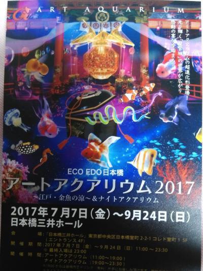 『江戸・金魚の涼』アートアクアリウム 2017