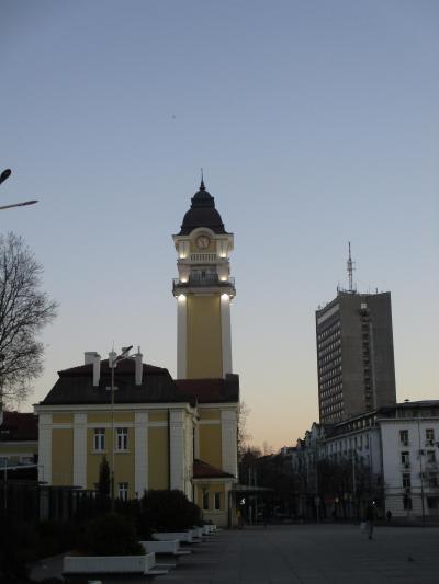 季節が変わる時に黒海沿岸のブルガスに滞在→サマータイムが始まった