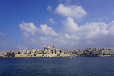 真夏のマルタ4泊7日~「地中海の宝石」は本当に宝石でした~①移動とヴァレッタ探索
