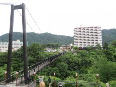 日光・鬼怒川温泉に宿泊して鬼怒楯岩大吊橋・楯岩展望台を散策しました