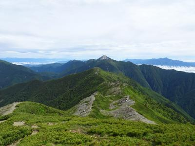 南アルプス♪小太郎山&北岳登山
