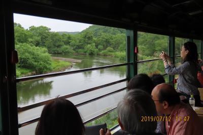 北海道道東の旅⑪釧路湿原をノロッコ号より見る