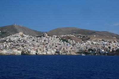 アテネ&ミコノス島&サントリーニ島 3日目 アテネ~ミコノス島へ