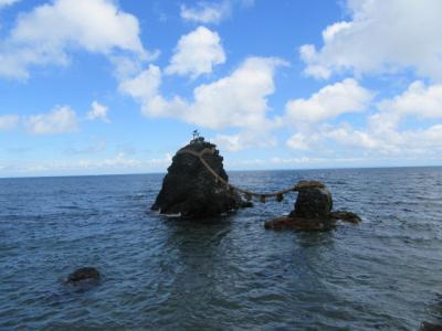 伊勢志摩へ2 二見興玉神社と夫婦岩