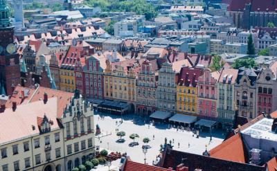 ポーランド再訪、今度は真夏 6日目 ブロツワフ