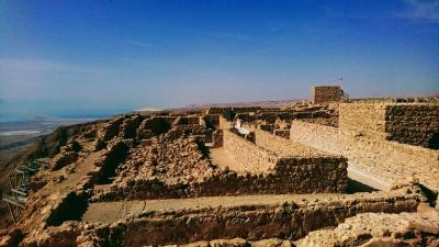 イスラエルの名所へ マサダ遺跡 死海 エルサレム
