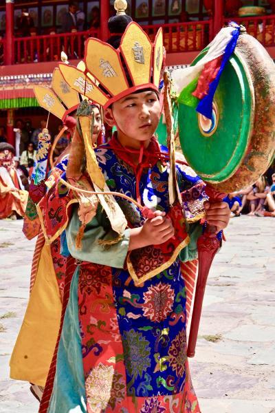 2度目のラダック・ヘミスゴンパの仮面舞踏(チャム)そしてパンゴンツォに