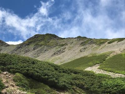 南アルプスの女王 仙丈ヶ岳に登ってみた