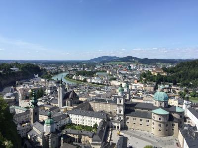 特典ビジネスで行くオーストリアとちょこっとドイツ: ②ザルツブルク