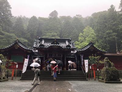 箱根神社でパワーをいただきに