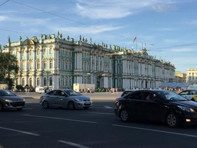 初ロシア(2)-サンクトペテルブルク