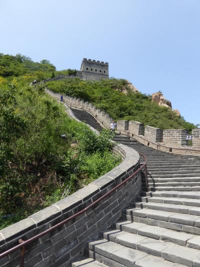 初めての北京観光:居庸関★万里の長城という山登り編★