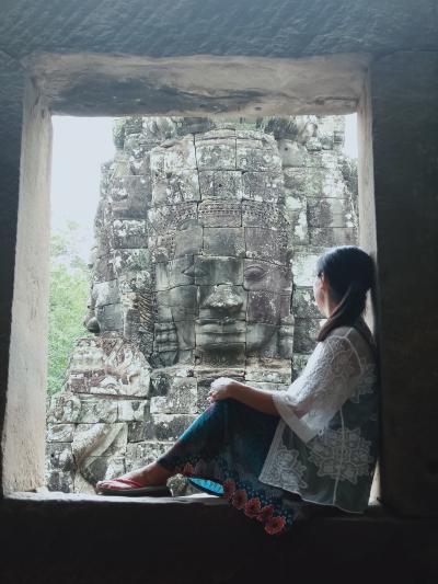 ☆インドシナのんびりふたり旅☆ カンボジア・シェムリアップ Day 2 前編