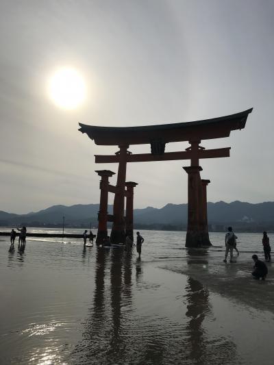 初 広島 !! 1日目 宮島 厳島神社・弥山