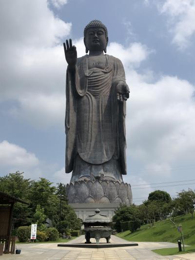 猛暑日に牛久阿弥陀大佛様を参詣しました