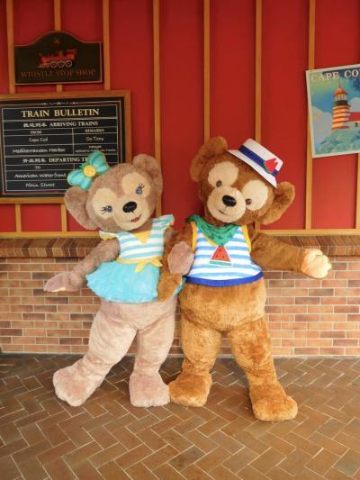 2019 JALビジネスでひとり上海ディズニー2泊3日♪ Day1(前半) キャラグリとパレード☆彡