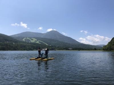 女神湖とヴィーナスライン