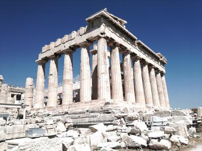 ギリシャの旅 アテネ街歩き
