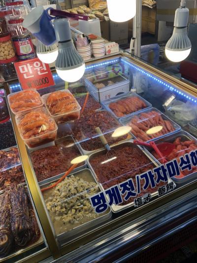久々のソウル~一人旅★帰りの便で早朝市場で買った明太子没収の危機の巻★