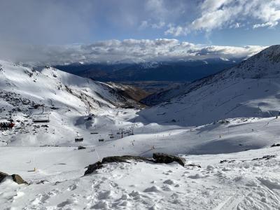 ニュージーランドでスキー(3) REMARKABLESでスキー