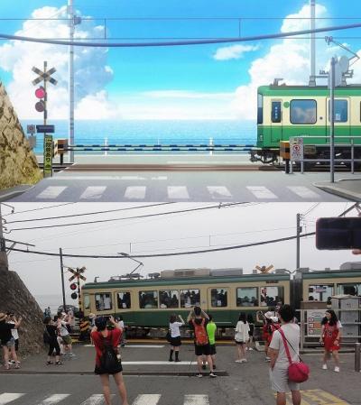 江ノ島 青春ブタ野郎はバニーガール先輩の夢を見ない 聖地巡礼