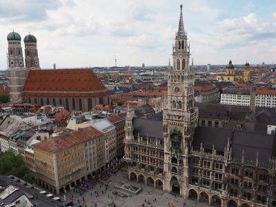 ミュンヘン街歩きと帰国の旅