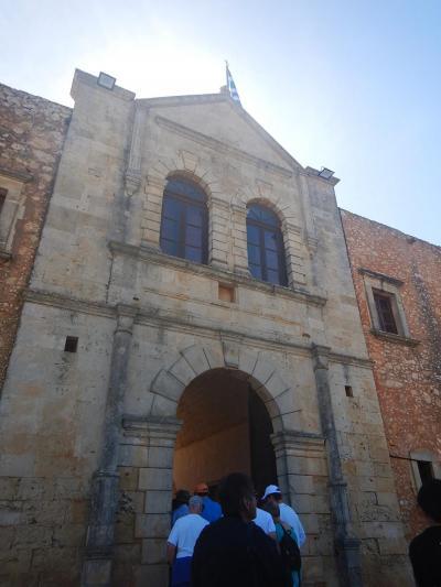 「全てのクレタ人は嘘つきだ」で有名なクレタ島/アルカディ修道院