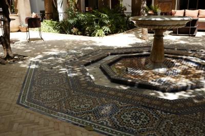 モロッコでものんびり フェズのホテル
