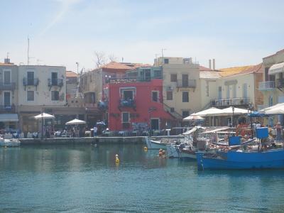 クレタ島 レティムノの港/オールドヴェネチアン的ハーバー