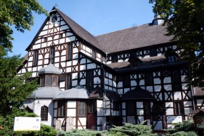 ポーランド再訪、 今度は真夏  8日目  平和教会探検