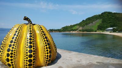 直島で芸術と触れ合う夏休み その1