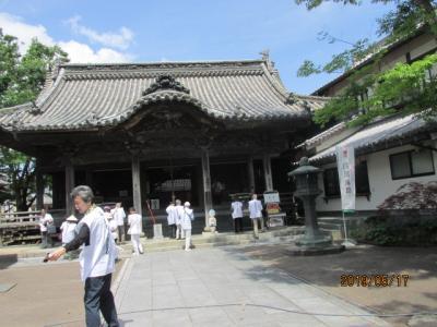 四国霊場・徳島編(32)第十三番大日寺に参拝。