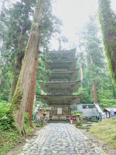 梅雨明け狙いの山形・秋田旅 0日目~1日目前半