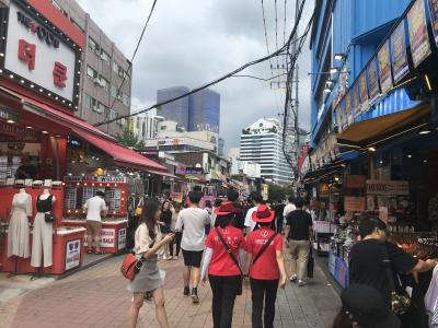 嫁と娘と私との3回目の韓国旅行 1日目