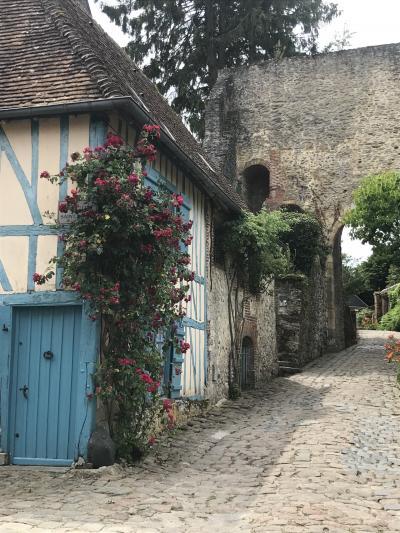 花いっぱいのフランスへ  8  ジヴェルニーからジェルブロワ へマイバスツアー参加