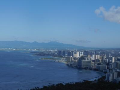 ANA フライングホヌ ファーストクラスで行くハワイ☆ホノルル編 出雲大社、カカアコ、アラモアナ、ダイアモンドヘッド