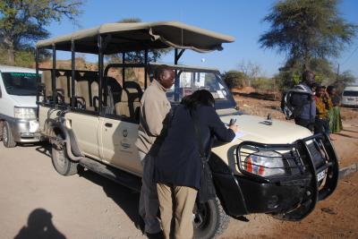 アフリカ南部へ。⑧ボツワナ共和国のチョベ国立公園のチョベマリーナロッジへ。