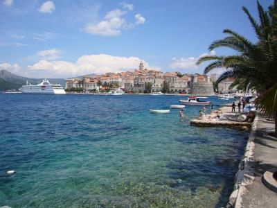 クロアチア周遊9日間の旅(10) コルチュラ島
