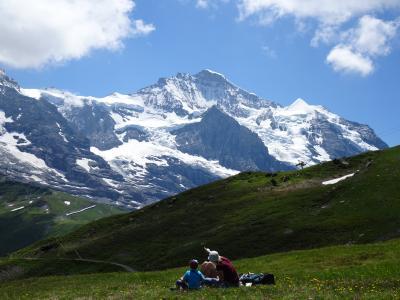 2019.7 スイス・ドイツの旅① ユングフラフヨッホ、フィルスト、ブリエンツ♪