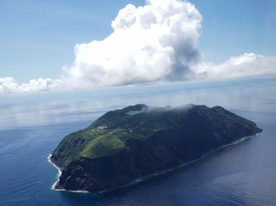 絶海の孤島! 憧れの青ヶ島へ