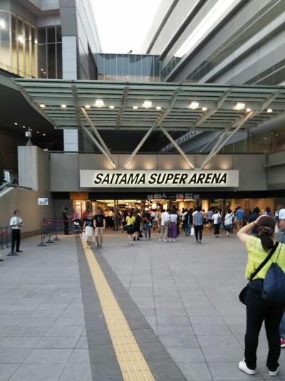 LIVEと旅は楽し!! B'z LIVE-GYM 2019 -Whole Lotta NEW LOVE-in Saitama